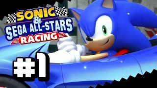 Sanic Rum-Rum? | Sonic & SEGA All-Stars Racing PARTE 1 - [Copa Chao]