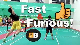 Badminton Fast & Furious Match! Badminton B 羽球 Badminton 2020