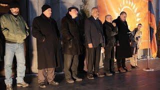 «Նոր Հայաստան»-ի հավաք-հանդիպումը Գավառում 19.12.2015