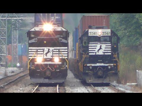 [3U] Districts North of Atlanta Part 1/2, Railfanning Smyrna - Mableton, GA, 09/02/2016 ©mbmars01