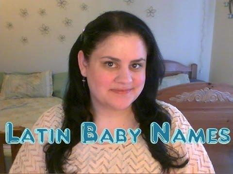 Latin Baby Names