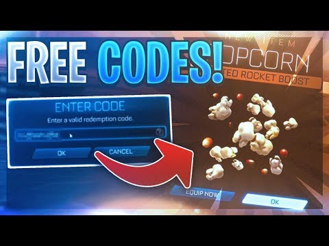 ALL *WORKING* FREE REDEEM CODES ON ROCKET LEAGUE!