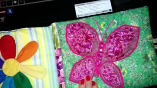 лоскутная книжка-малышка(Солнце вешнее с дождём Строят радугу вдвоём - Семицветный полукруг Из семи широких дуг. -- Пчёлка, пчёлка,..., 2014-02-08T18:51:09.000Z)