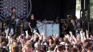 Bring Me The Horizon - Full Set Live at Warped Tour Chicago 2013