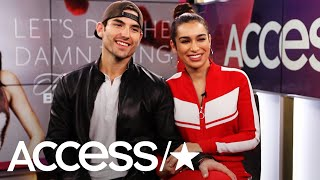 """Bachelor"" couple Ashley Iaconetti and Jared Haibon sit with Access..."