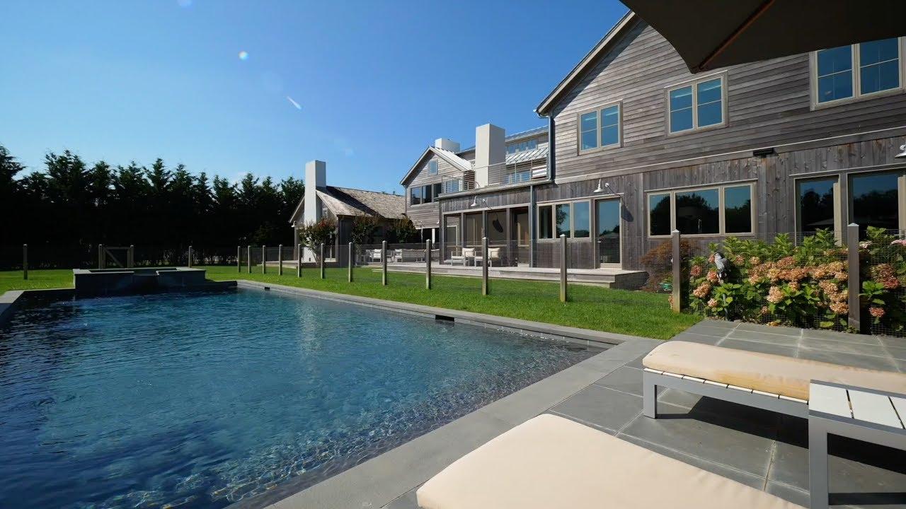 Modern Barn Style Home Bridgehampton NY Lifestyle Production Group