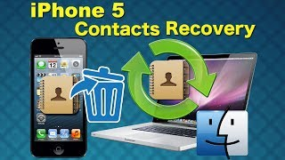 iPhone 5/4S/4/3GS Recovery: How to Recover Contacts from iPhone directly without iTunes Backup