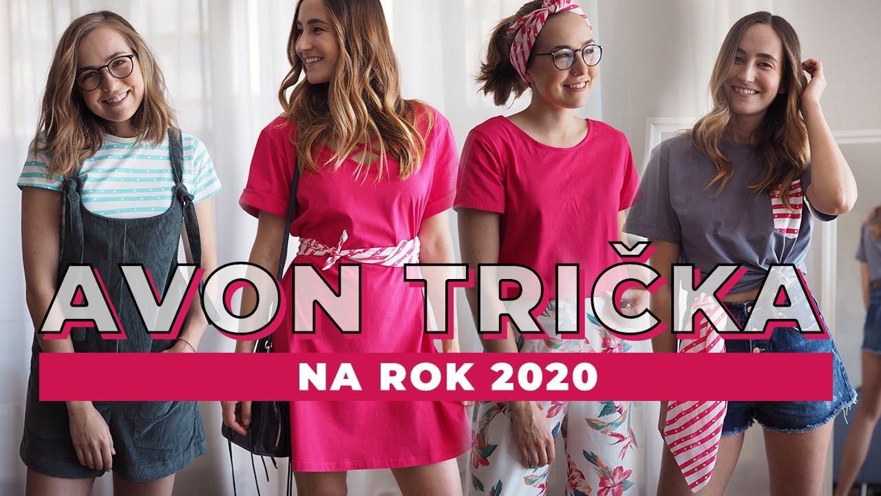 Navrhly jsme trička na Avon Pochod 2020! - YouTube