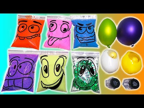 Making Slime with Bags Water Toys And Balloons | Satisfying Slime Videos