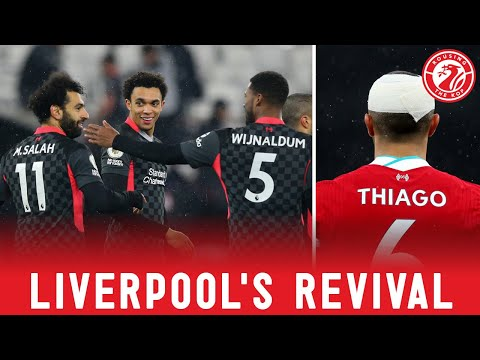 Liverpool's major revival - and a tasty Thiago question
