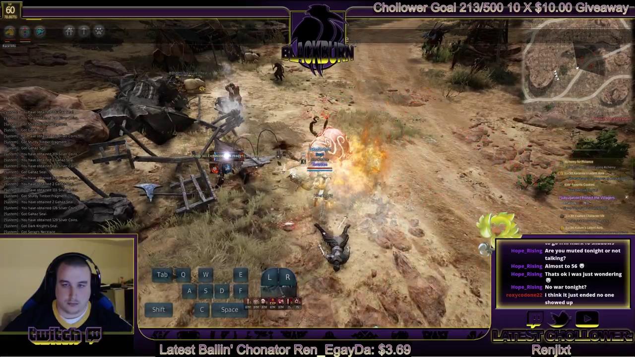Black Desert Online: Wizard 2/3 Elite Seraps at Gahaz