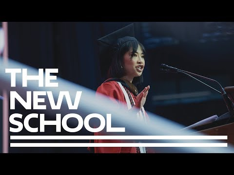 Yu Ling Wu | Keynote Student Speaker | The New School 2018 Commencement Ceremony