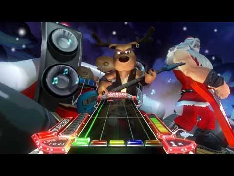 Shook's Random Gaming Santa Rockstar HD (Christmas Music Guitar Game)