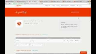 Zapier Developer Platform Example Etsy