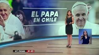 Anuncian cambios de rutas y actividades de Papa Francisco en Chile- CHV NOTICIAS