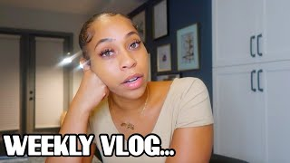 WEEKLY VLOG| SICK AF, HOME SHOPPING, + TROUBLE IN PARADISE!!! ..IM SINGLE ALREADY?