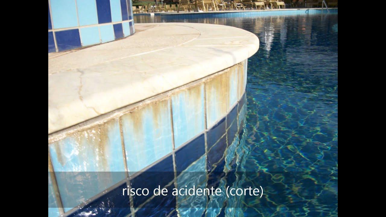 Rejunte na piscina muitas falhas youtube for Piscina de sal