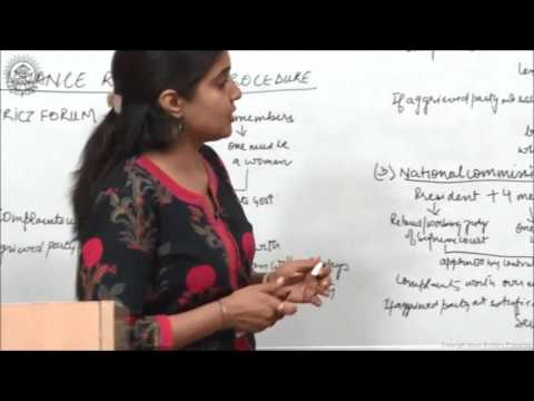 Who can file a Complaint and Grievance Redresal Procedure Class XII Business Studies by Ruby Singh