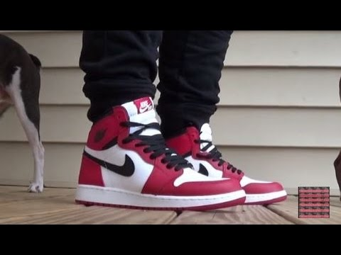 new product 36b94 b30ed Air Jordan 1 Chicago OG 2015 Sneaker On Feet Quick Look + Sizing With  @DjDelz