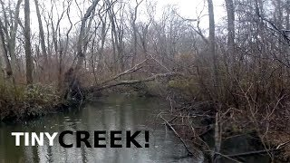 Fishing a TINY Creek - Small Waters & WISHFULLY Thinking - A Relaxing Outing