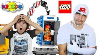 Лего Машина Техобслуживания 60073. Сборка лего набора. Новое приключение папы и Камиля. Кикидо