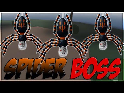 Fighting The SPIDER DEMON BOSS! | Spider Boss Location | Ro-Slayers