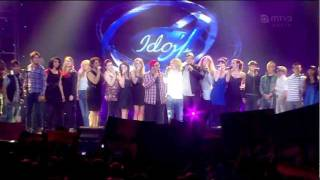 Idols 2011 semifinalistit ja superkuoro - Thank You For The Music