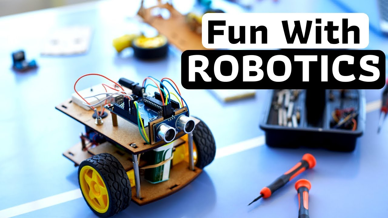 Robotics for Kids | Robotics Tutorial for Beginners | How to Build a Robot?  - YouTube
