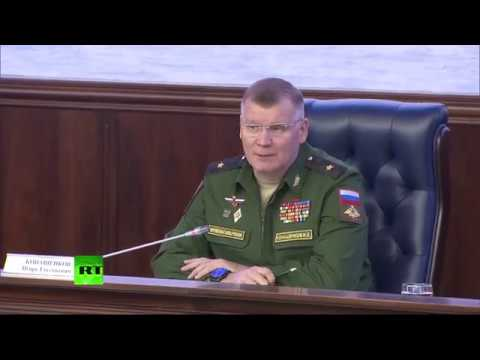 Russian MoD gives briefing in Moscow