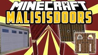 MALISISDOORS: Puertas y bloques invisibles - Minecraft Mod 1.8.9/1.8/1.7.10/1.7.2