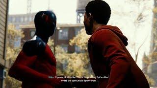 Spider-Man Meets Miles Morales (Scarlet Spider 2 Suit Walkthrough) - Marvel