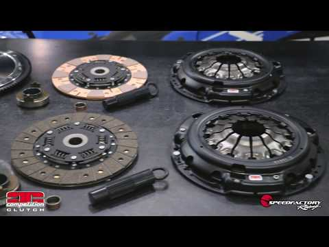 Competition Clutch 8090-ST K-Series Clutch Kit with Flywheel - Installation and Review