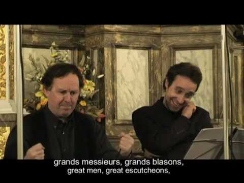 J.S.BACH : Quodlibet : CLEMATIS : Leonardo GARCIA-ALARCON