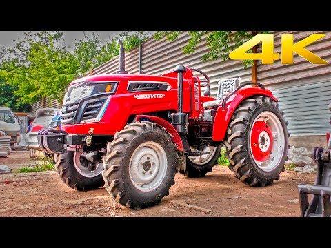 Новый трактор РУСИЧ 404 (Чувашпиллер 404) - аналог известного советского трактора Т-40?