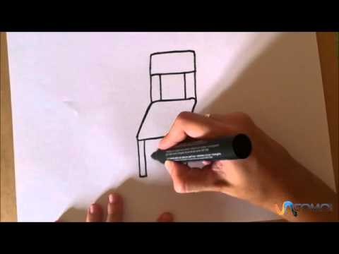 Dibujar una silla animada draw a chair animated youtube for Silla facil de dibujar