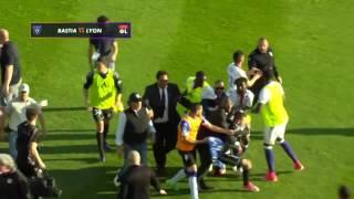Zapping n°16 : après match Bastia - OL (match arrêté) - Footbol