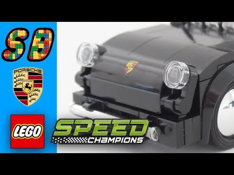 lego speed champions 2018 porsche 356 coupe youtube. Black Bedroom Furniture Sets. Home Design Ideas