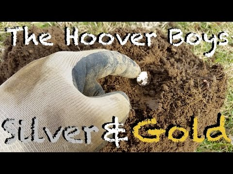 Metal Detecting Coins!! NEL Storm Coil, #7 Silver & Gold