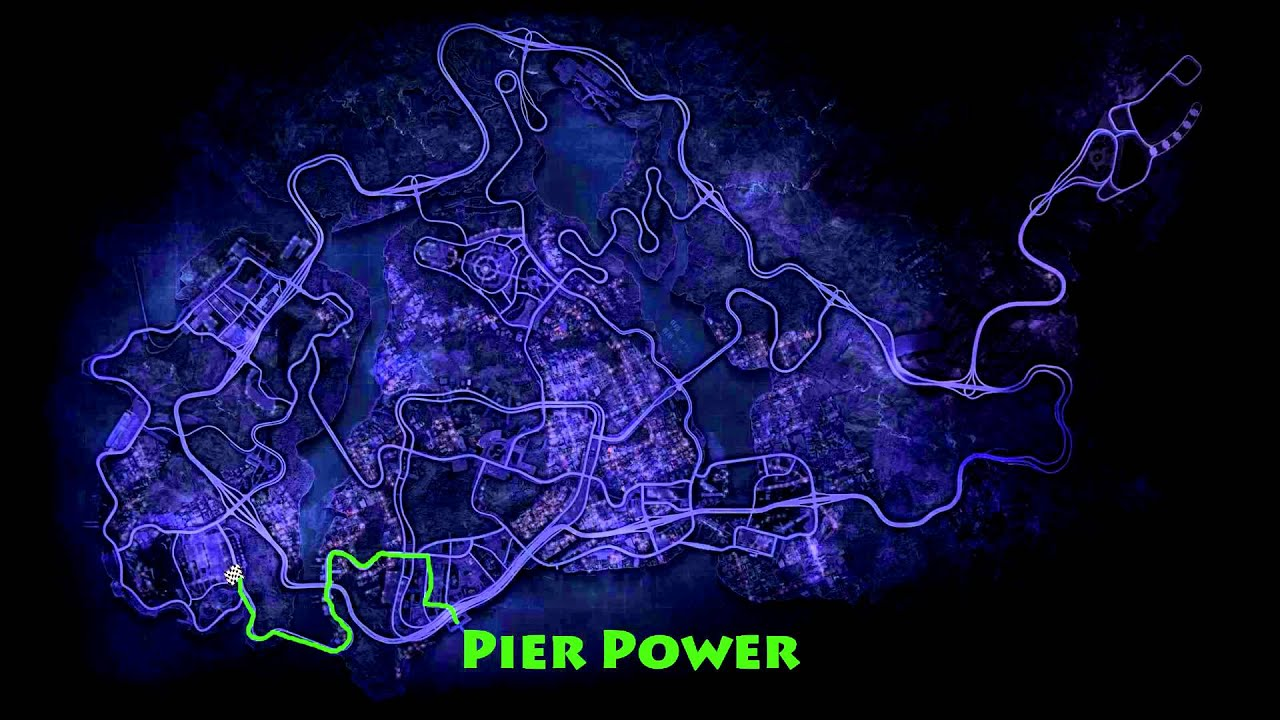 Need For Speed Most Wanted 2012 Maps Of Race Routes For Private