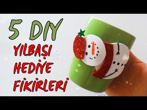 Christmas Gift İdeas | 5 DIY
