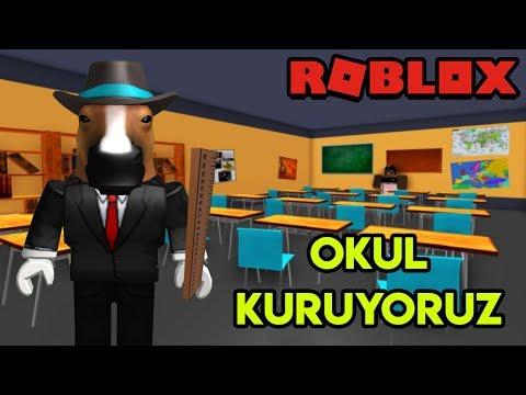 🏫 Kendi Okulumuzu Kuruyoruz 🏫   School Tycoon   Roblox Türkçe