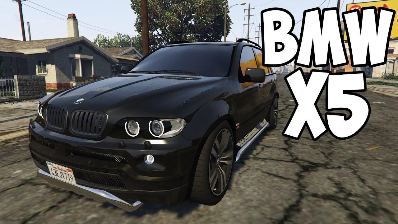 GTA 5 Mods  BMW X5 E53 Sport Package  YouTube