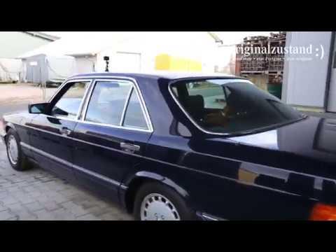 MERCEDES BENZ W126 300SE - ORIGINALZUSTAND - S ist soweit