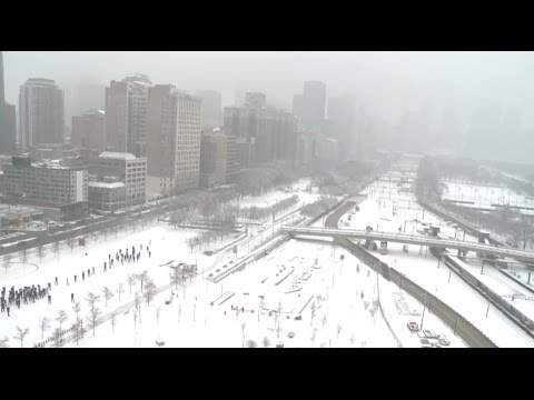 Heaviest Snow This Winter Blankets Midwestern States of USA