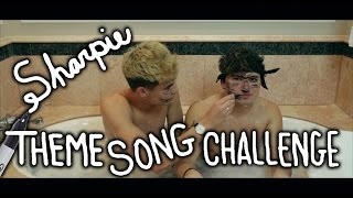 sharpie theme song challenge