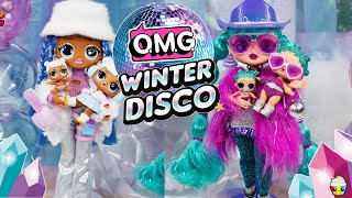 NEW Winter Disco OMG Big Sisters! Big Sisters + Little Sisters Ultra Rare Surprise Snow