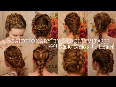 """Braid-tionary"" by Ladollyvita333: 40 Basic Braids For Every Stylist to Learn!"