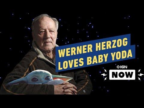 Star Wars: Werner Herzog Loves Baby Yoda - IGN Now
