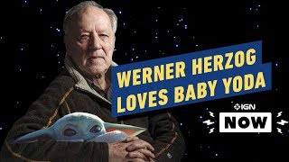 Star Wars: Werner Herzog Loves Baby Yoda - IGN Now
