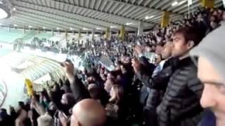 """VIDEO - Chievo-Napoli 0-1, i tifosi azzurri rispolverano il """"Porompompero"""" dei tempi d"""